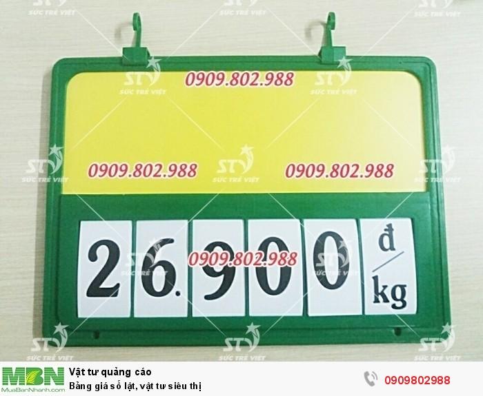 Khung bảng giá số lật. 0909.802.9880