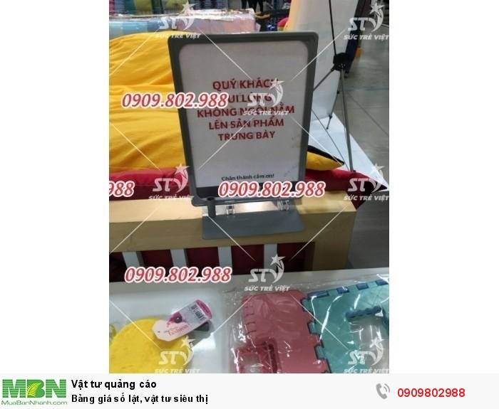 Khung bảng giá chân đế sắt 0909.802.9884