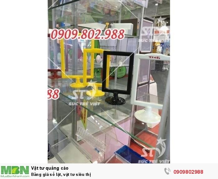 Chân hung bảng giá mica, Chân khung bảng giá thông tin A3, A4, A5, A6. 0909.802.9886