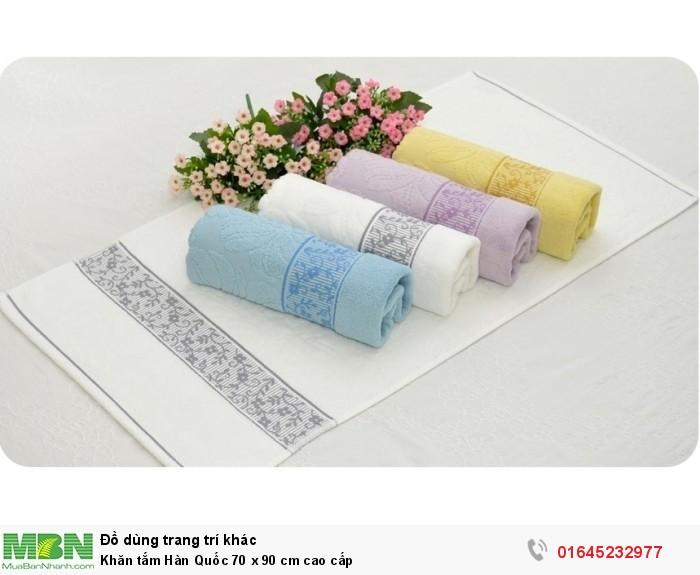 Khăn tắm Hàn Quốc 70 x 90 cm cao cấp