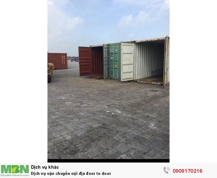 Dịch vụ vận chuyển nội địa Door to Door