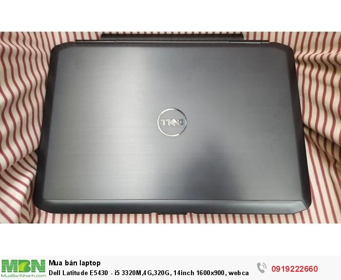 Dell Latitude E5430 - i5 3320M,4G,320G, 14inch 1600x900, webcam0