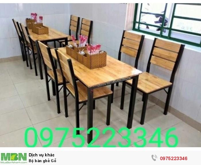 Bộ bàn ghế Gỗ..0