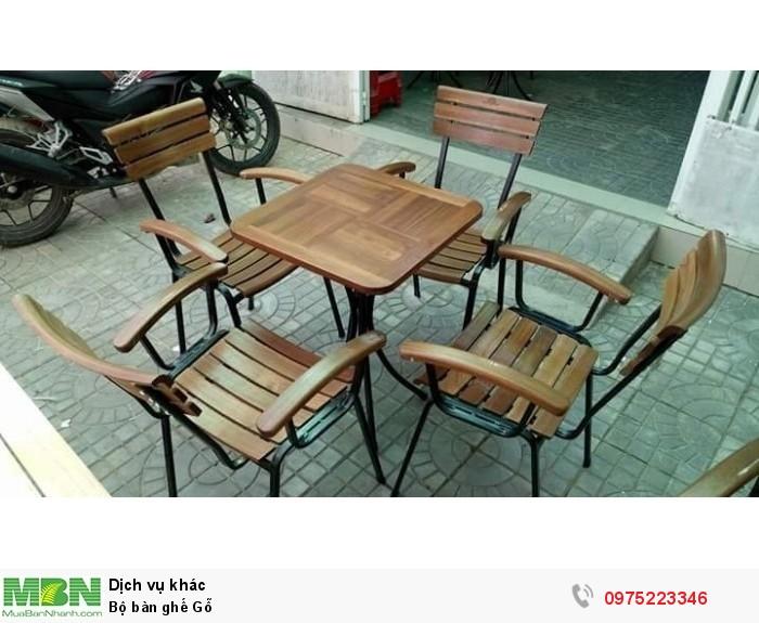 Bộ bàn ghế Gỗ..4