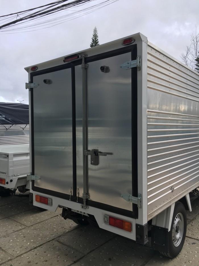 Khuyến mãi đặc biệt cuối năm - Xe Tải SUZUKI Super Carry Pro 750kg thùng kín