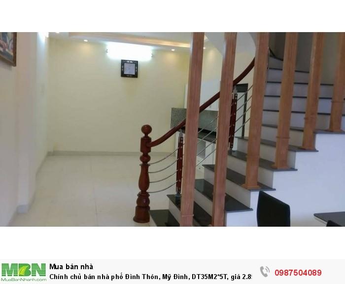 Chính chủ bán nhà phố Đình Thôn, Mỹ Đình, DT35M2*5T