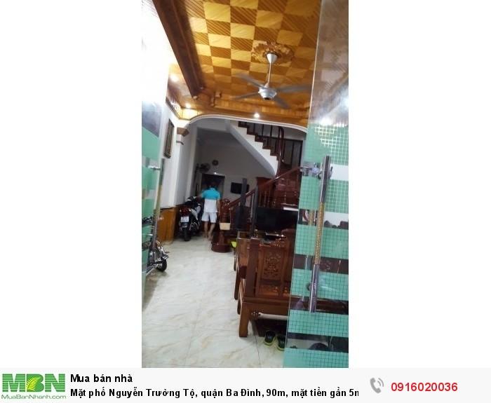 Mặt phố Nguyễn Trường Tộ, quận Ba Đình, 90m, mặt tiền gần 5m, rẻ nhất thị trường!!!