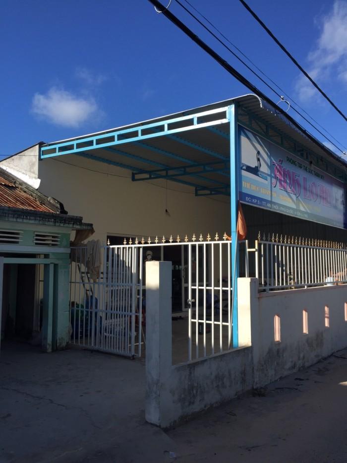 Bán nhà 3 MT hẻm xe tải trung tâm thị trấn An Thới, Phú Quốc, 20x23