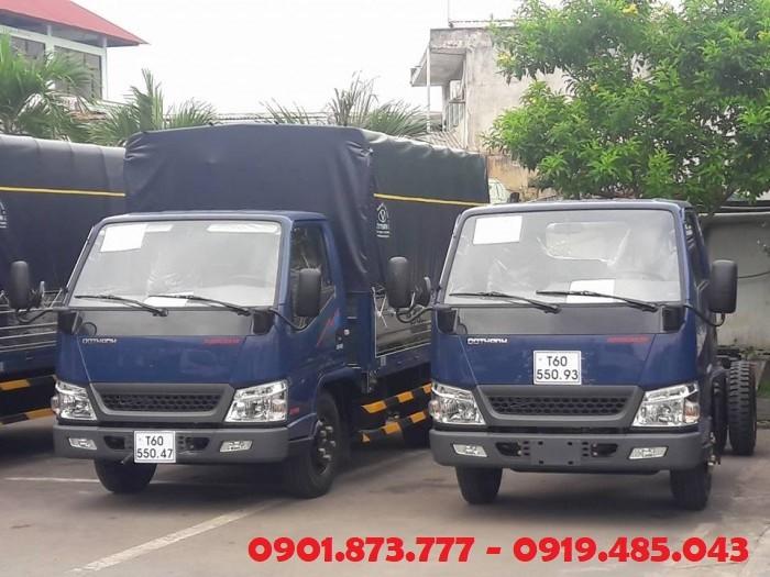 Xe tải Đô Thành 2.4 tấn 2.5 tấn| IZ49 2T4 2T5 Đô Thành động cơ Isuzu chính hãng