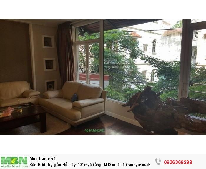 Bán Biệt thự gần Hồ Tây, 101m, 5 tầng, MT8m, ô tô tránh, ở sướng, giá rẻ!