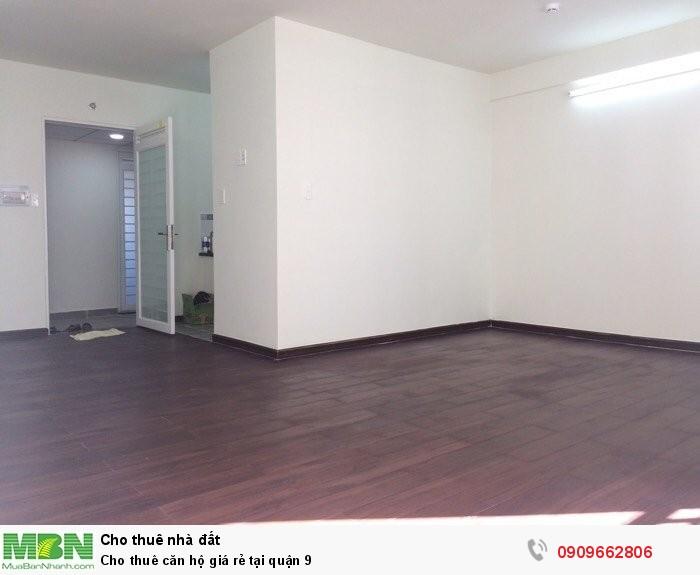Cho thuê căn hộ giá rẻ tại quận 9