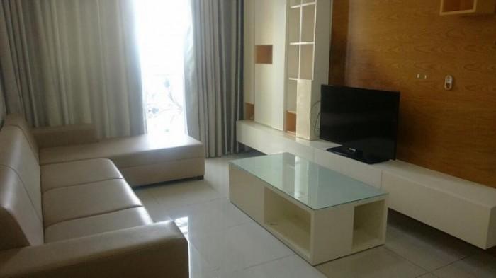 Cho thuê căn hộ Đường Sắt, Quận 3, 2 phòng, đầy đủ nội thất, giá 9 triệu.