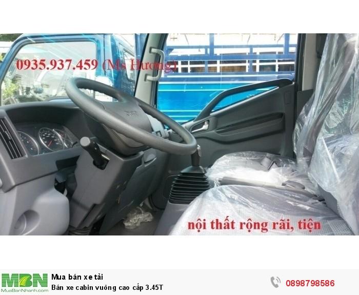 Bán xe cabin vuông cao cấp 3.45T