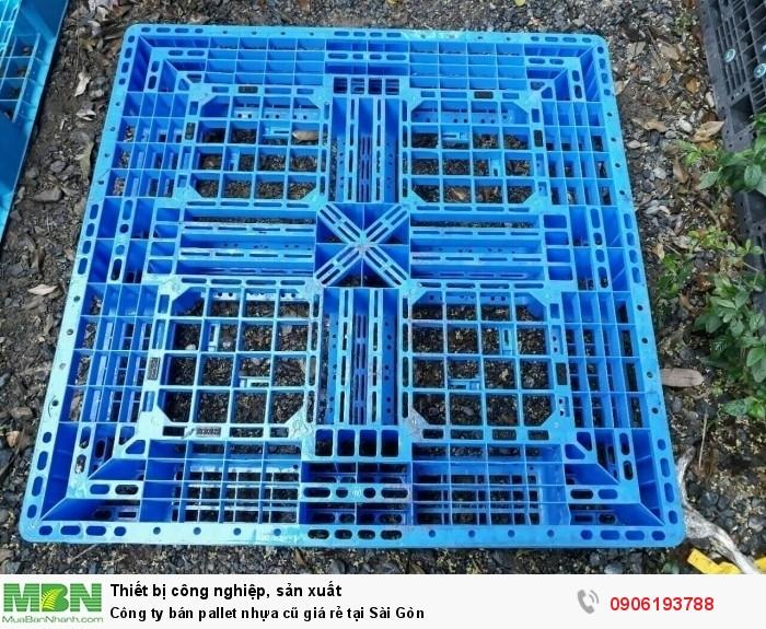 Công ty bán pallet nhựa cũ giá rẻ tại Sài Gòn - Đứng đầu về số lượng pallet nhựa cung ứng. Liên hệ: 0906193788 (24/24)
