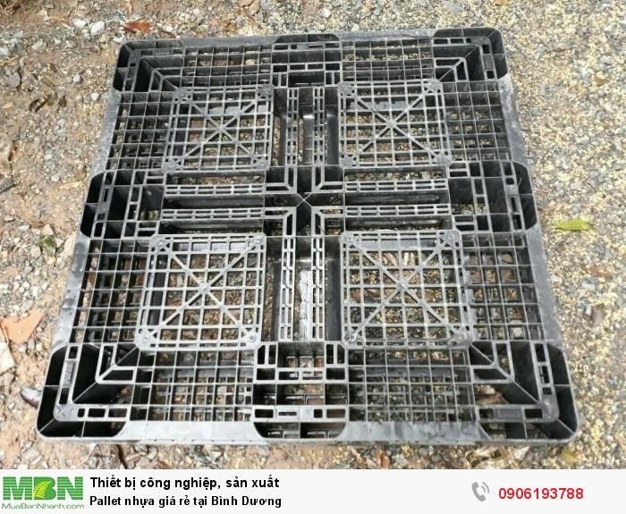 Công ty bán pallet nhựa cũ giá rẻ tại Bình Dương - Liên hệ: 0906193788 (24/24)