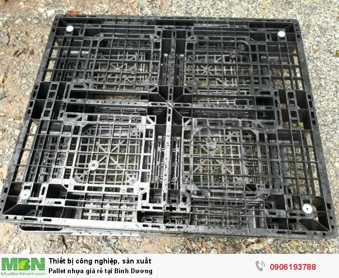 Pallet nhựa cũ giá rẻ tại Bình Dương - Liên hệ: 0906193788 (24/24)