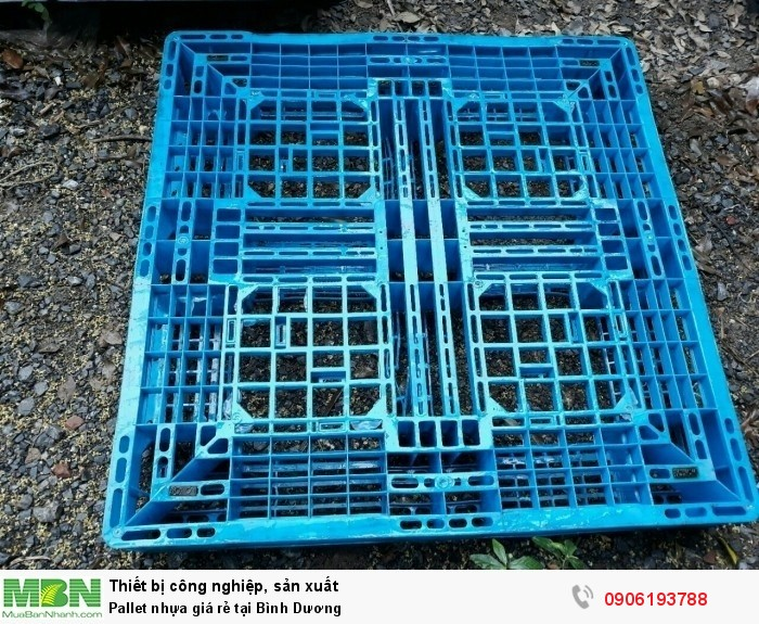 Công ty bán pallet nhựa cũ giá rẻ tại Bình Dương - Pallet nhựa cũ được bảo hành tốt nhất.