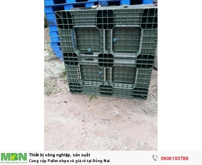 Cung cấp Pallet nhựa cũ giá rẻ tại Đồng Nai