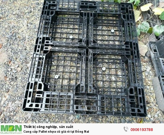 Công ty bán pallet nhựa cũ giá rẻ tại Đồng Nai - Đa dạng nhiều chủng loại pallet nhựa cũ - Liên hệ: 0906193788 (24/24)