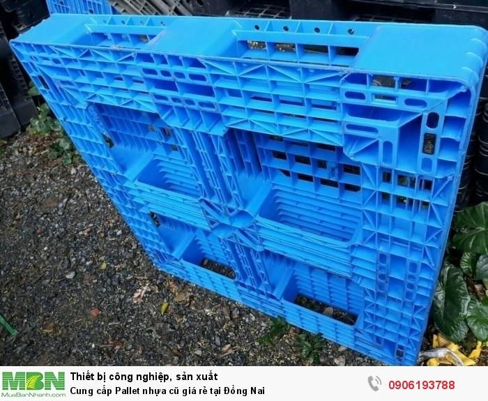Công ty bán pallet nhựa cũ giá rẻ tại Đồng Nai - Pallet nhựa cũ được bảo hành tốt nhất.