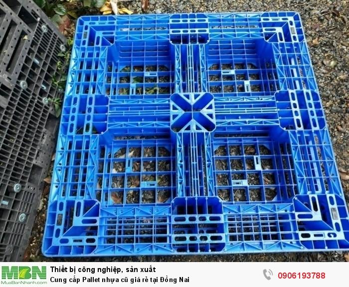 Công ty bán pallet nhựa cũ giá rẻ tại Đồng Nai