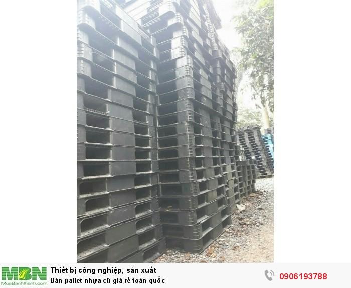 Bán pallet nhựa cũ giá rẻ toàn quốc. Miễn phí vận chuyển. Liên hệ: 0906193788 (24/24)