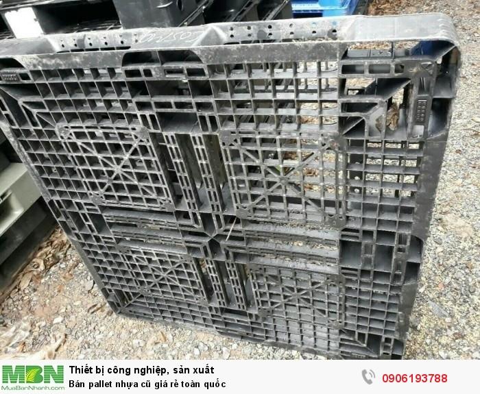 Bán pallet nhựa cũ giá rẻ toàn quốc. Liên hệ: 0906193788 (24/24)