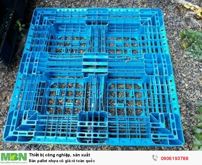 Bán pallet nhựa cũ giá rẻ Đà Nẵng