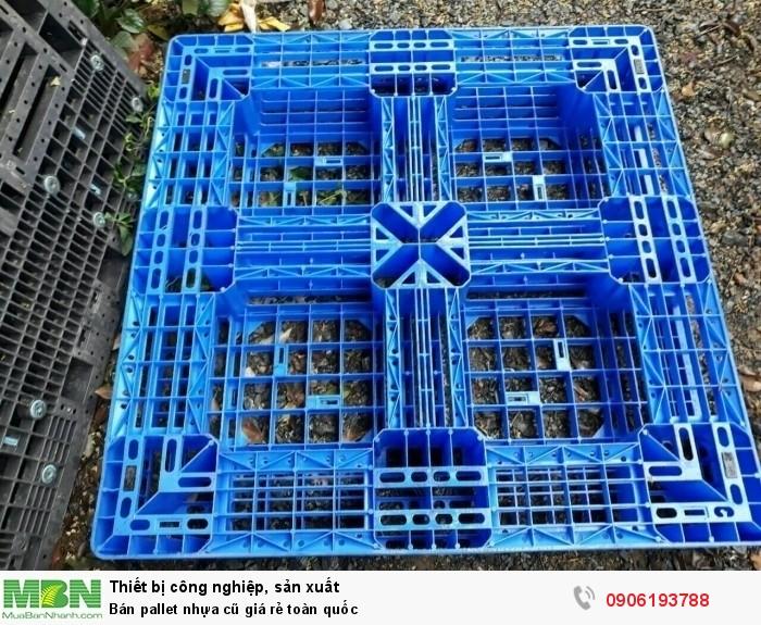 Bán pallet nhựa cũ giá rẻ Bình Dương. Liên hệ: 0906193788 (24/24)