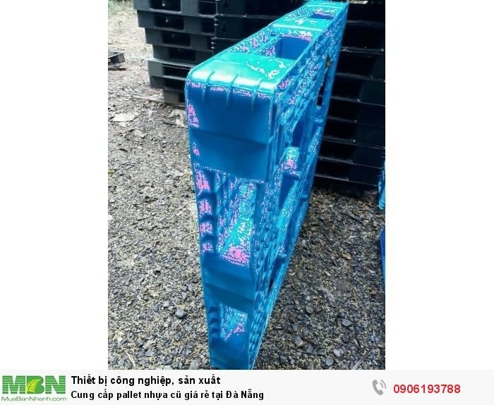 Cung cấp pallet nhựa cũ giá rẻ tại Đà Nẵng - Chuyên cung cấp các Khu công nghiệp, Khu chế xuất lớn. Liên hệ: 0906193788 (24/24)