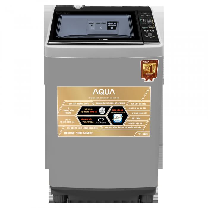 Máy giặt Aqua 11.5 Kg AQW-UW115AT2