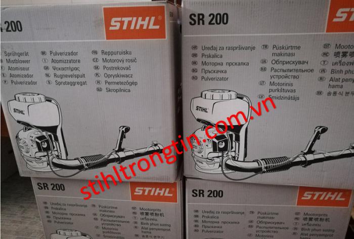 Máy phun thuốc diệt côn trùng, phòng dịch stihl SR200 - nhỏ gọn, bền bỉ, hiệu suất cao