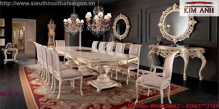 bộ bàn ăn cổ điển Cần Thơ27