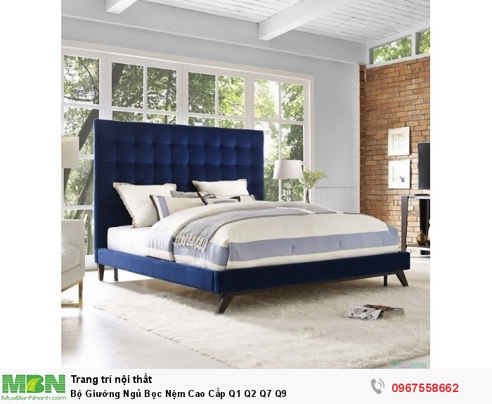 giường ngủ bọc vải cao cấp Phú Nhuận Tân Bình7