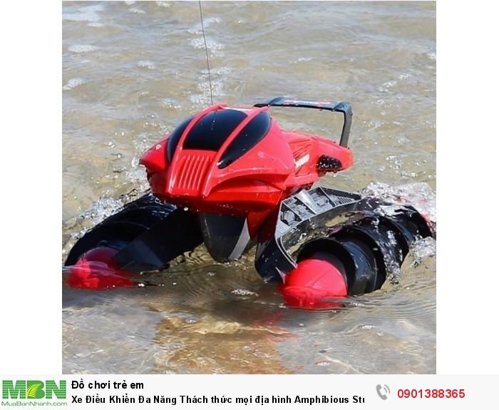 Xe Điều Khiển Đa Năng Thách thức mọi địa hình Amphibious Stunt Car - MSN3882966