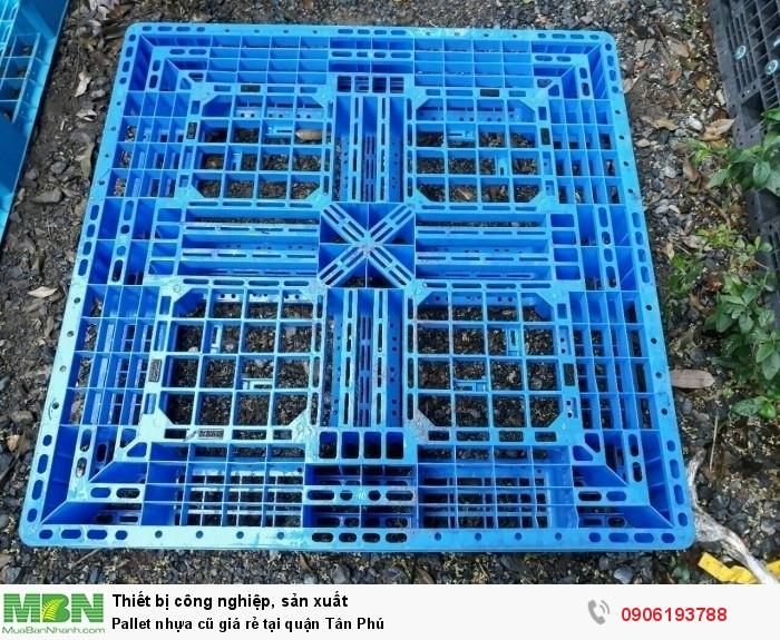 Pallet nhựa cũ giá rẻ tại quận Tân Phú