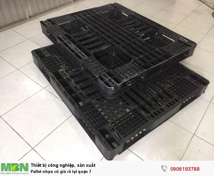 Pallet nhựa đã qua sử dụng giá rẻ tại quận 7. Liên hệ: 0906193788 (24/24)
