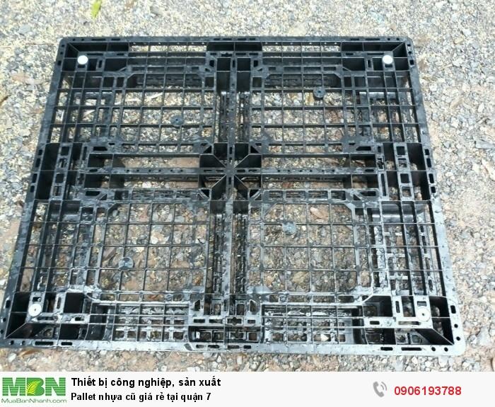 Pallet nhựa đã qua sử dụng tại quận 7. Liên hệ: 0906193788 (24/24)5