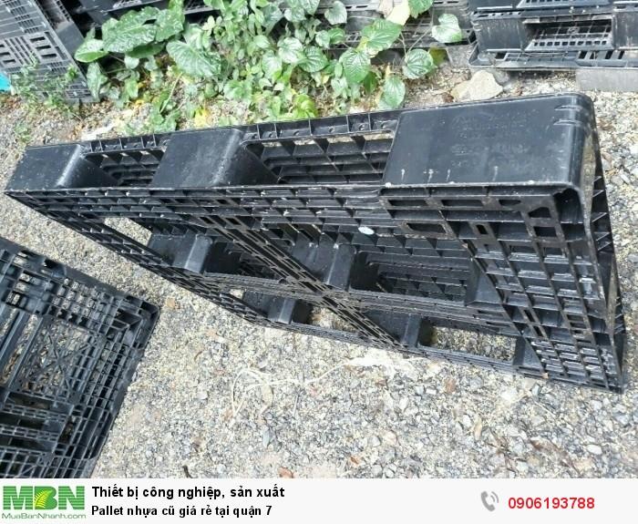 Pallet nhựa cũ tại quận 7. Liên hệ: 0906193788 (24/24)6