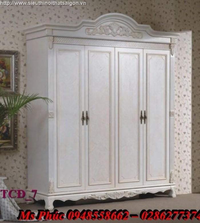 mẫu tủ quần áo đẹp bằng gỗ