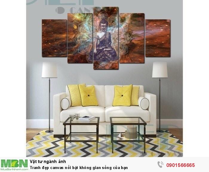 Tranh đẹp canvas nổi bật không gian sống của bạn3