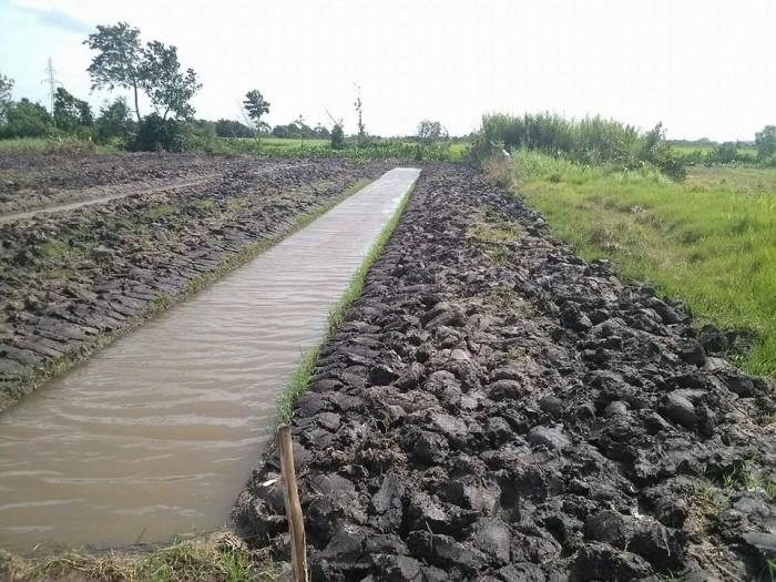 Bán đất vườn củ chi gần chợ sáng Tân Thạnh Đông đã Hoàn thiện làm vườn,dt 1100m2
