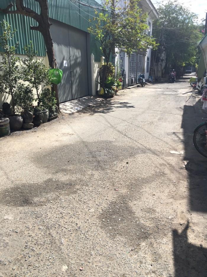 Nhà hẻm 8m Lê Lai GV, Dt 22m2