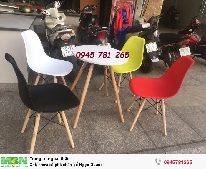 Ghế nhựa eames Ngọc Quảng