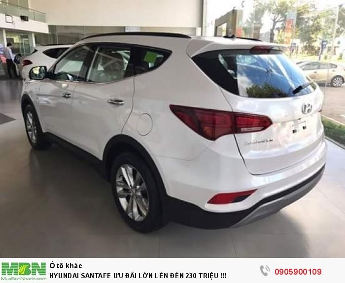 Hyundai Santafe Ưu Đãi Lớn Lên Đến 230 Triệu !!!