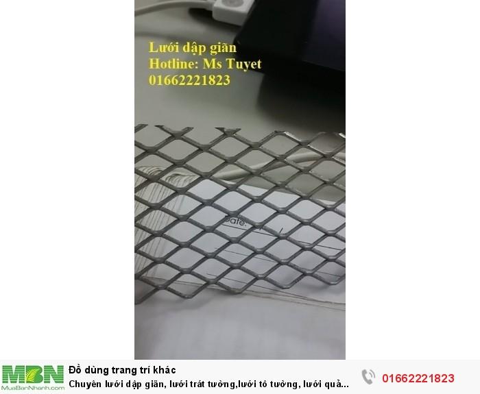Chuyên lưới dập giãn, lưới trát tường,lưới tô tường, lưới quả trám1