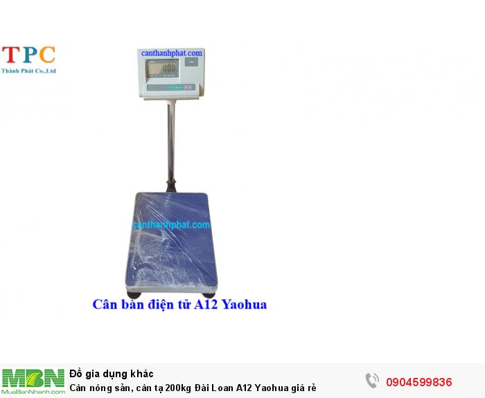 Cân bàn A12 Yaohua0