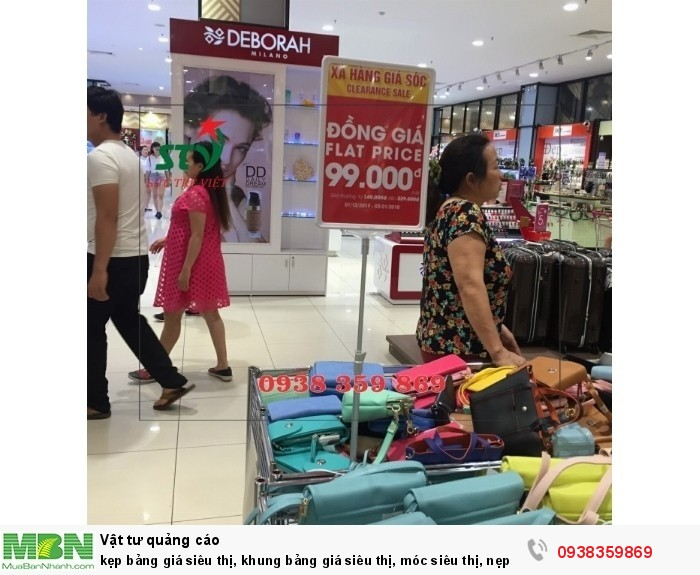 kẹp bảng giá siêu thị, khung bảng giá siêu thị, móc siêu thị, nẹp nhựa siêu thị, vật tư siêu thị