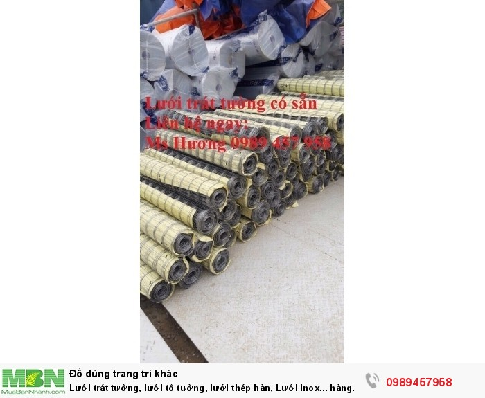 Phân phối lưới 5x5, 10x10, 25x25, Lưới 10x20, 15x30, Lưới chống nứt tường, Lưới chống thấm7