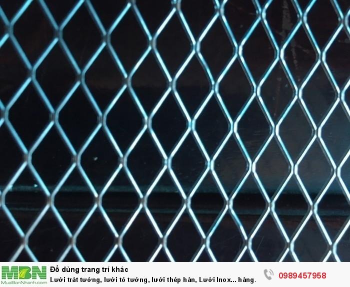 Phân phối lưới 5x5, 10x10, 25x25, Lưới 10x20, 15x30, Lưới chống nứt tường, Lưới chống thấm10